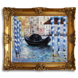 Wall Art Decor 20x24'' Edouard-Manet Repro Oil Painting on canvas MN08