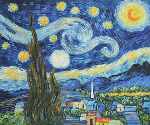 The Starry Night-Vincent van Gogh