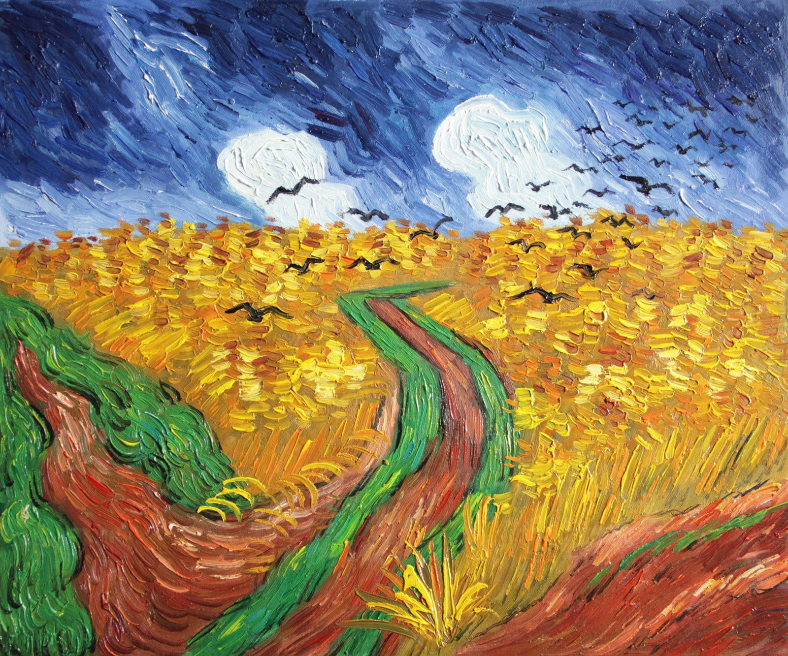 VG08-Wheatfield with Crows