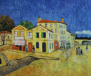 VG104-Vincent's House in Arles (The Yellow House)