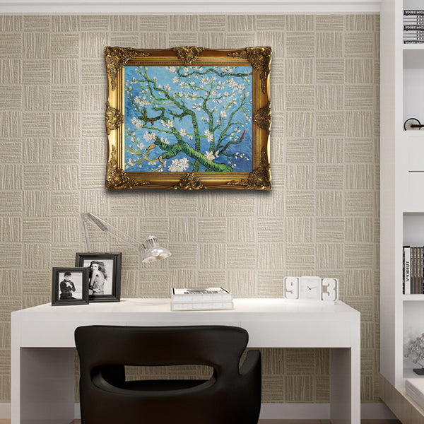 "VG23-Branches with Almond Blossom-Vincent van Gogh Repro Oil Painting on Canvas 20x24"" - USA Oil Painting- Art Supplies"