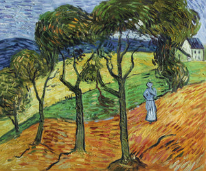 VG49-Landscape with Trees and Figures