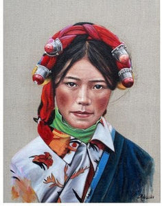 "Wangjilin 28x36"" oil painting - USA Oil Painting- Art Supplies"