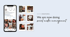 White Creatures - Home page Banner