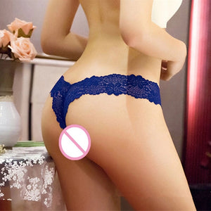 S-XL Newest Women G String Sexy Underwear Lace Briefs Panties Transparent Super Thin Hollow Thongs