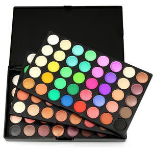 120 Colors Cosmetic Powder Eyeshadow Palette Makeup Set Matt Available eyeshadow pallete  Make up