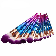 12pcs Angled Powder Blusher Make Up Brushes Set Foundation Eyebrow Eyeliner Cosmetic Makeup Brush