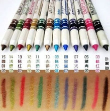 12 Color Glitter Lip Liner Eye Shadow Pencil Pen Cosmetic Makeup Set Liner Combination For Women