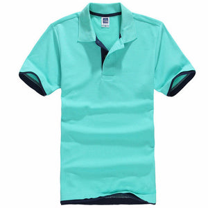 Plus Size Brand New Men's Polo Shirt Men Cotton Short Sleeve shirt jerseys Mens Shirts polo shirts