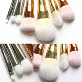 7pcs Makeup Cosmetic Brushes Set Powder Foundation Eyeshadow Lip Brush Tool-Hot Sale Products free ship to worldwide