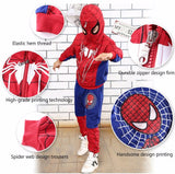 New Spiderman Baby Boys Clothing Sets Cotton Sport Suit For Boys Clothes Spring Spider Man Cosplay Costumes KIds Clothes Set-Hot Sale Products free ship to worldwide