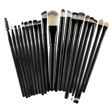 20Pcs/Sets 2017 New Eye Shadow Foundation Eyebrow Lip Brush Makeup Brushes Tool