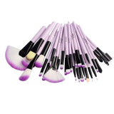 Soft Makeup Brushes Set 32 PCS Multi-Color Beauty Brushes Best Gift Kabuki Brush Set Kit Pouch Bag-Hot Sale Products free ship to worldwide