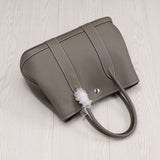 Lychee partten high quality genuine leather Hermes like handbag crossbody garden bag party tote shopping bags-Hot Sale Products free ship to worldwide