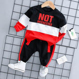 Spring Autumn Baby Boy Girl Clothing Set Cotton Kids Toddler Clothes Letter Sport Suit For Boy Infant Long Sleeve t-shirt+pants-Hot Sale Products free ship to worldwide