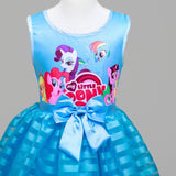 My Baby Girl Tutu Dress Children Girl little Pony Dresses Cartoon Princess Party Costume Kids Clothes Summer Clothing-Hot Sale Products free ship to worldwide