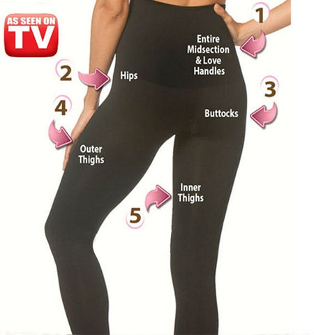 Slim shaper Women Legging High waist Seamless Shaper Slim Leggings plus size 3XL-Hot Sale Products free ship to worldwide