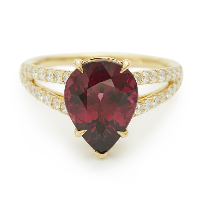 All My Heart Rhodolite garnet Ring