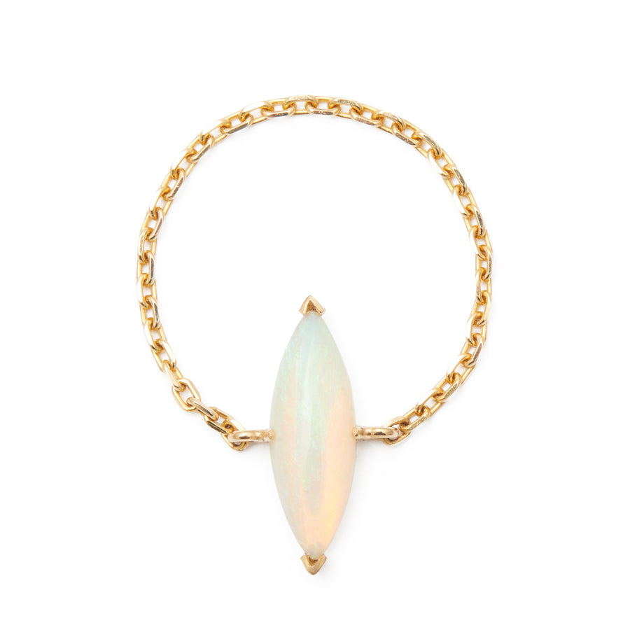 Opal Marquise Supreme Chain Ring