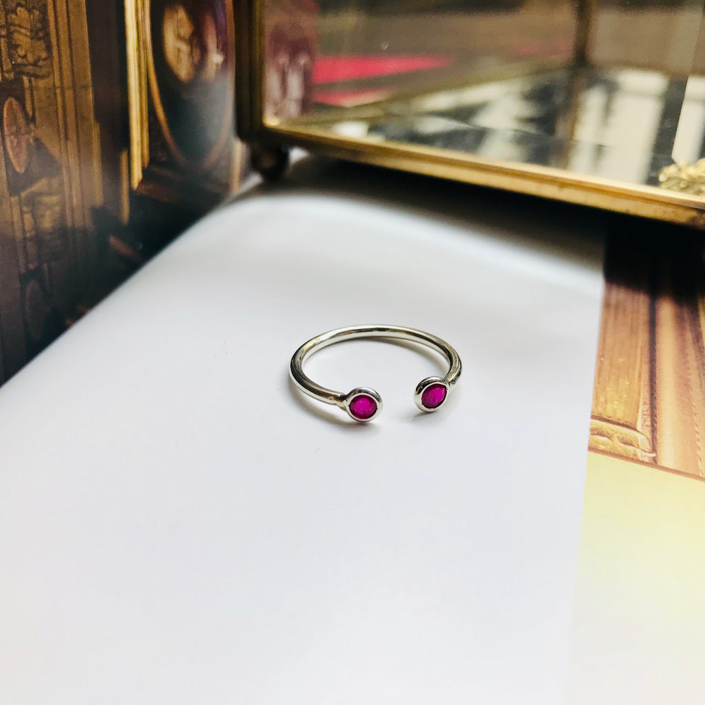 Yi Collection x Opening Ceremony Ruby Open Ring