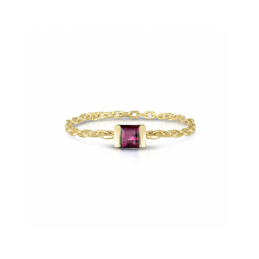 Ruby petite Chain Ring