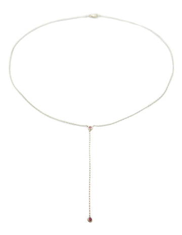Yi Collection x Opening Ceremony Ruby Lariat Necklace