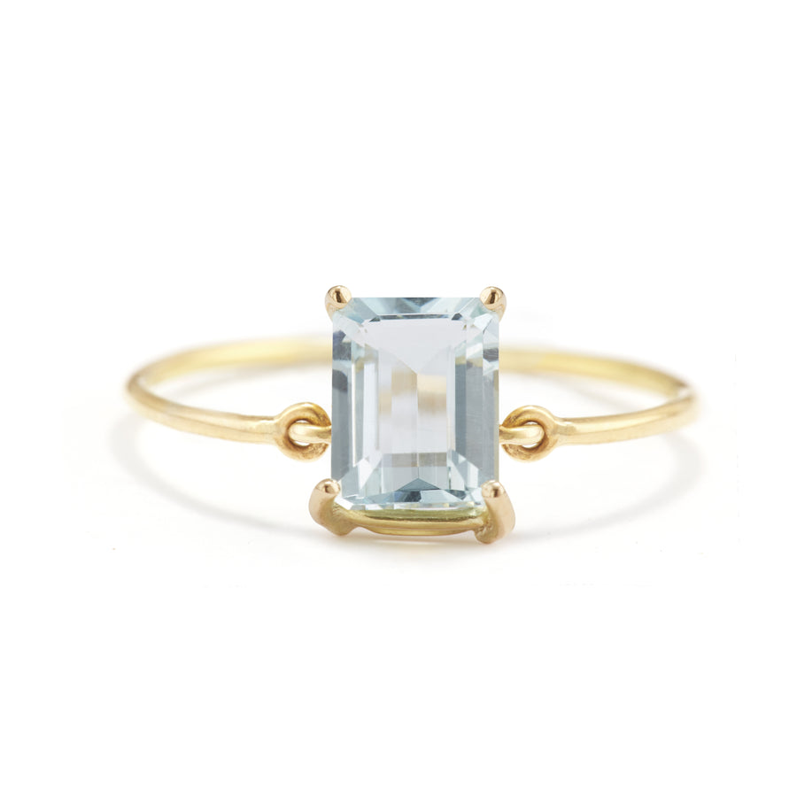 Aquamarine ice Ring