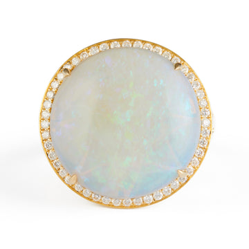 Opal Magic Supreme Orb Ring