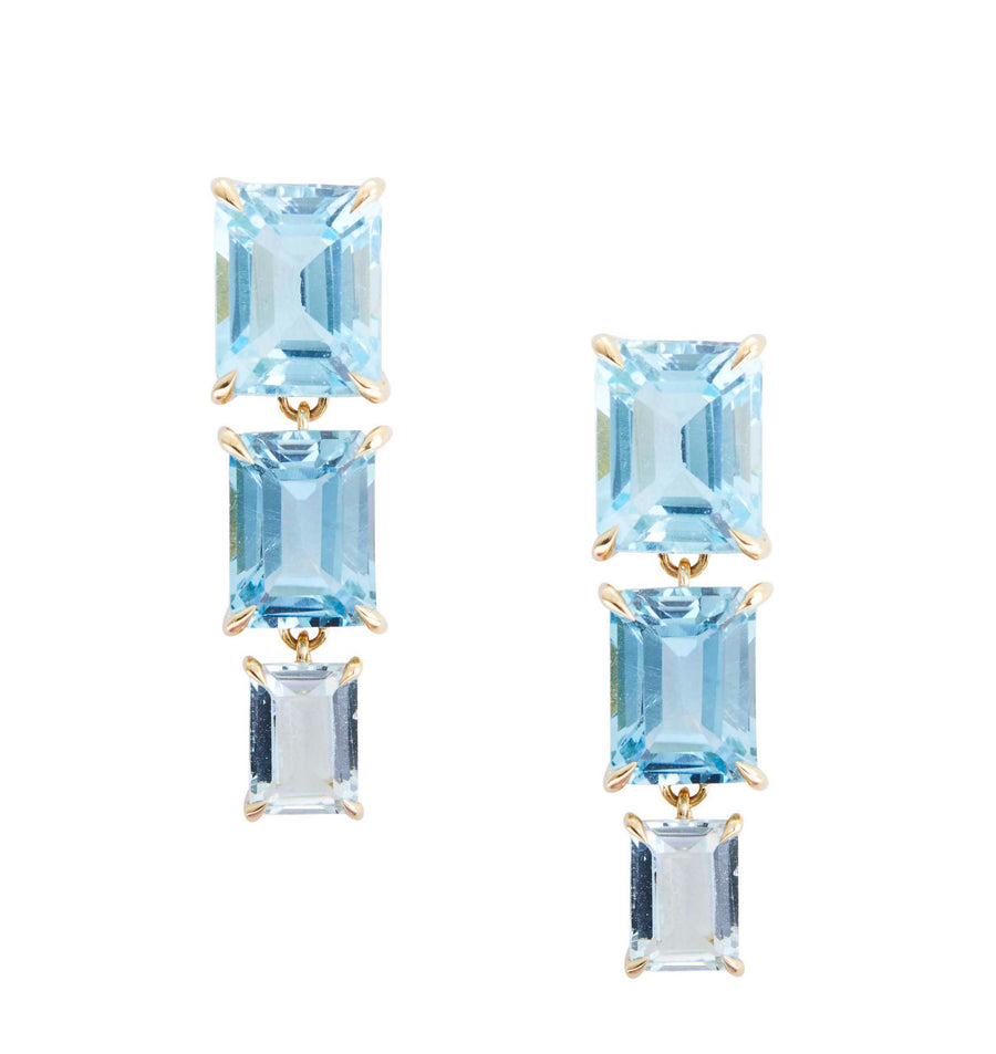 Topaz Ombre Cascade Earrings