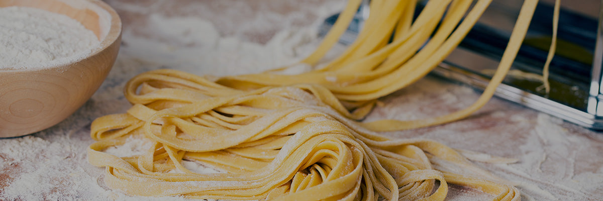 homemade pasta made in italy