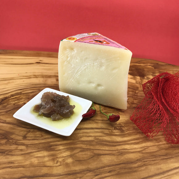 Pecorino Toscano & Caramelized Red Onions | PepeGusto
