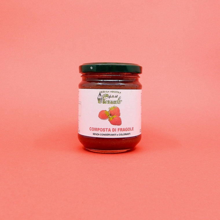 Artisan Compote of Strawberries - PepeGusto