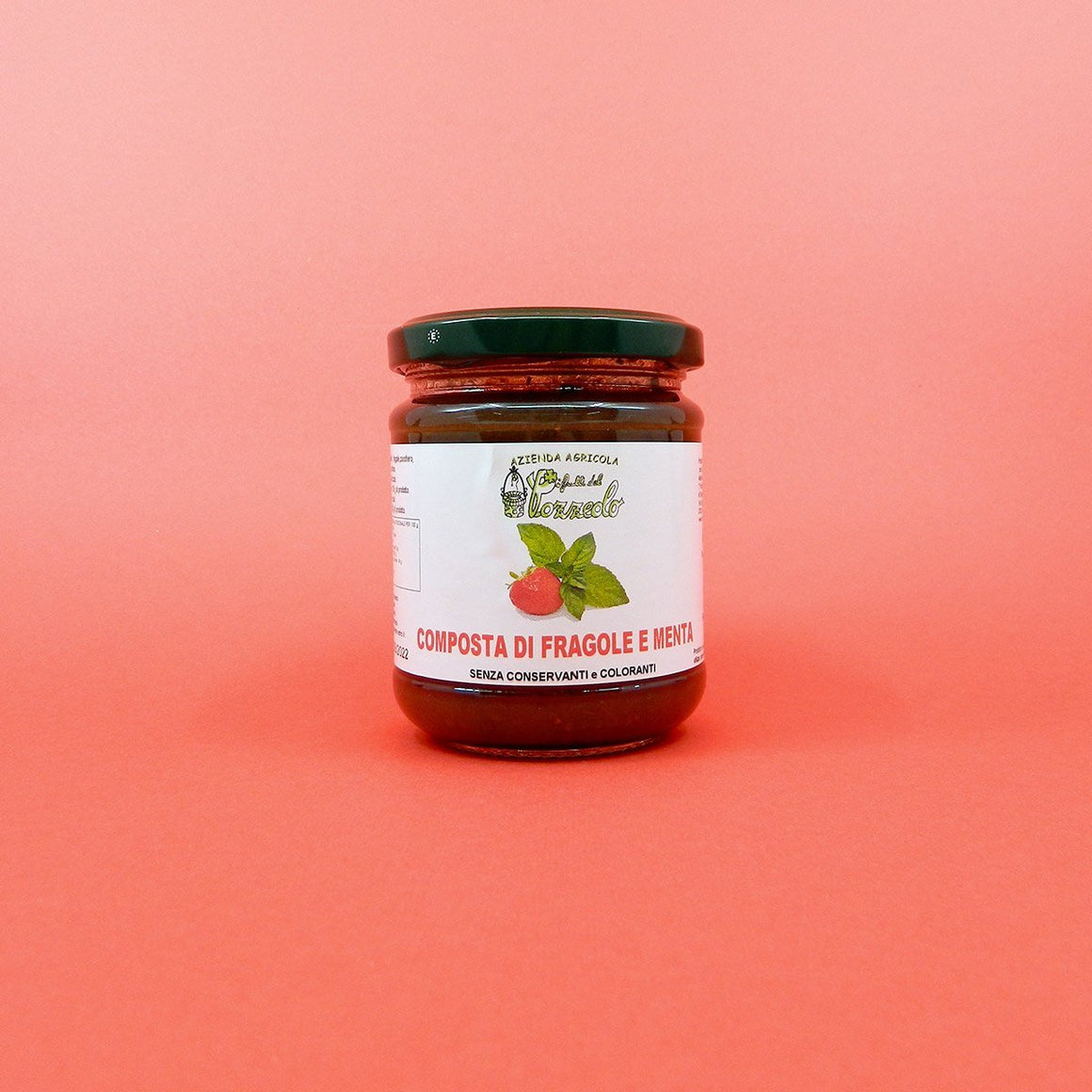 Artisan Jam of Strawberries and Mint - PepeGusto