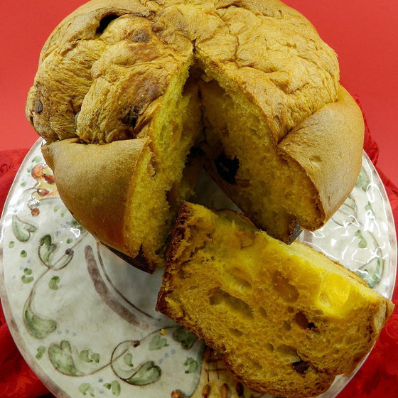 Artisan Panettone Strawberry ginger white chocolate - Molinari - PepeGusto