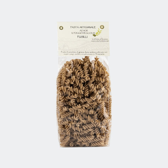 "Artisan Pasta of Tuscany ""Fusilli"" Ancient Grains - PepeGusto"