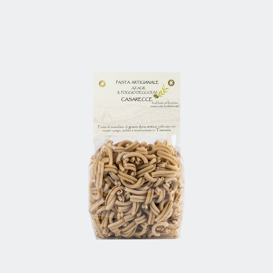 "Artisan Pasta of Tuscany ""Casarecce"" Slow Dried and Bronze Drawn (22/26 hours)"