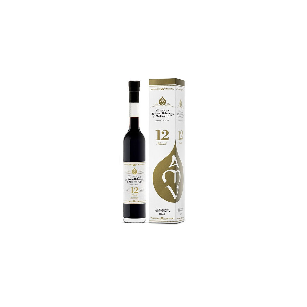 Condiment with Balsamic Vinegar of Modena 12 Barili - PepeGusto
