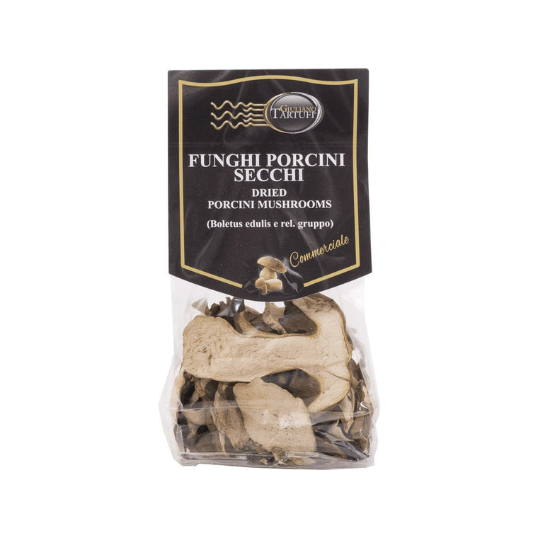 Dried Porcini Mushrooms - Giuliano Tartufi - PepeGusto