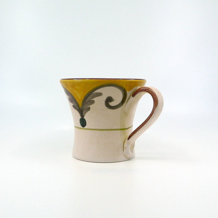 Handmade ceramic Decor MUG - Ceramic of Gubbio - PepeGusto