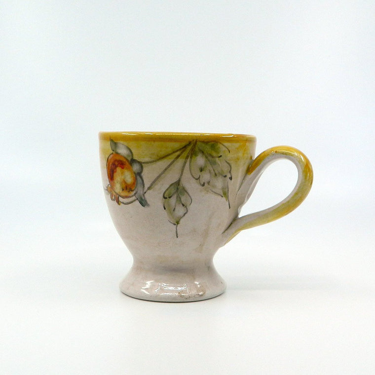 Handmade ceramic pomegranate MUG - Ceramic of Gubbio - PepeGusto