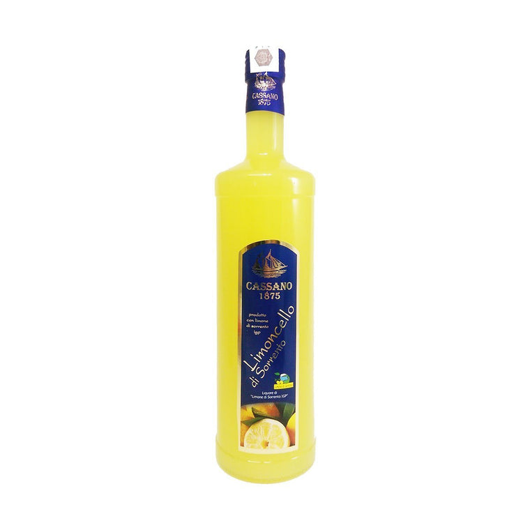 Italian Limoncello of Sorrento IGP 500ml - PepeGusto