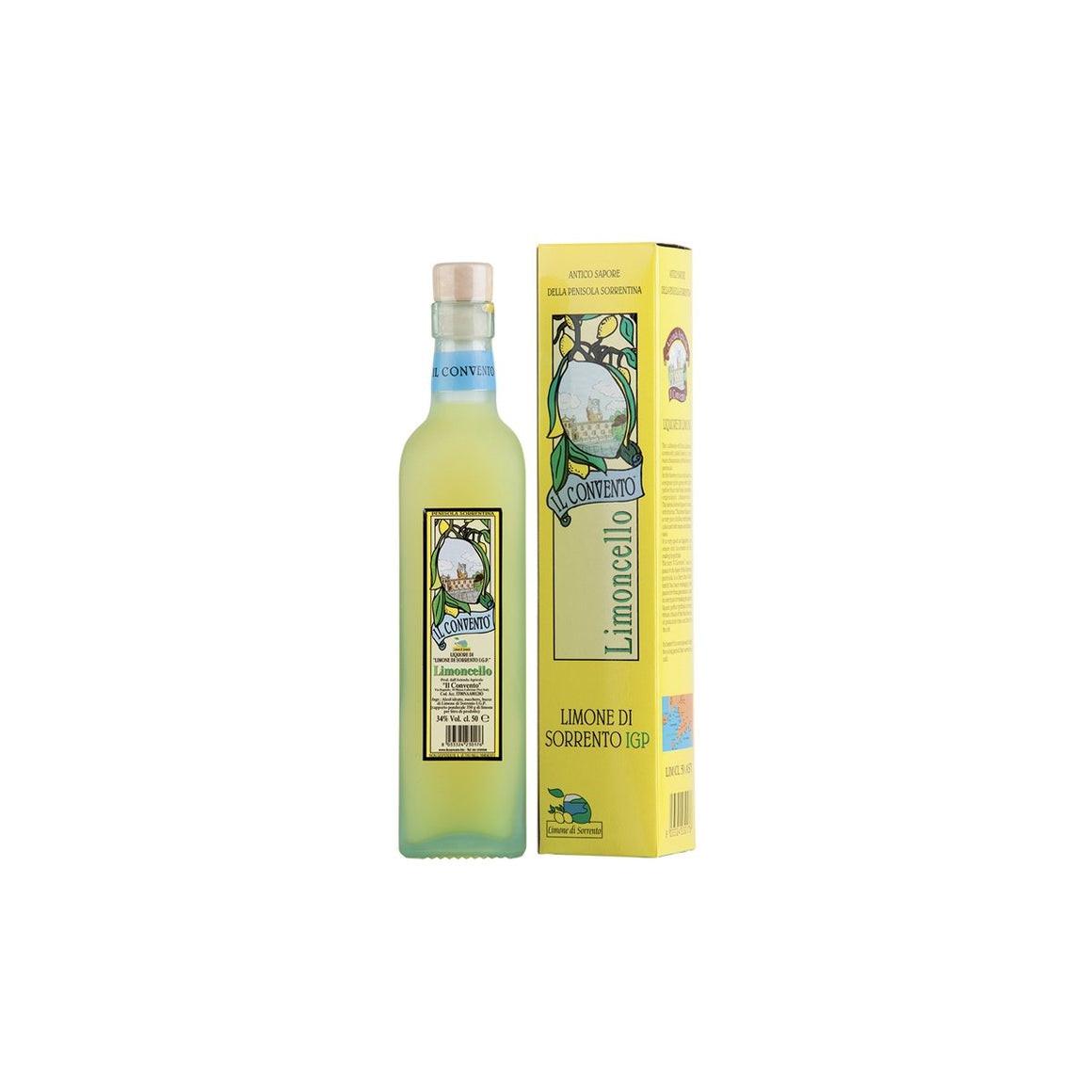 Limoncello of Sorrento IGP 500ml - PepeGusto