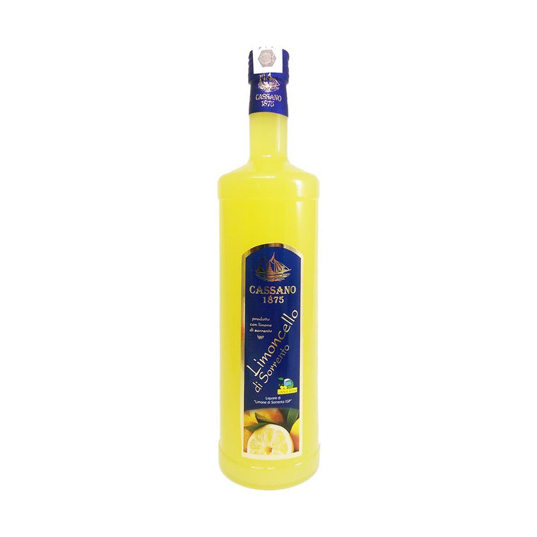 Limoncello of Sorrento IGP Lemon 1000ml - PepeGusto