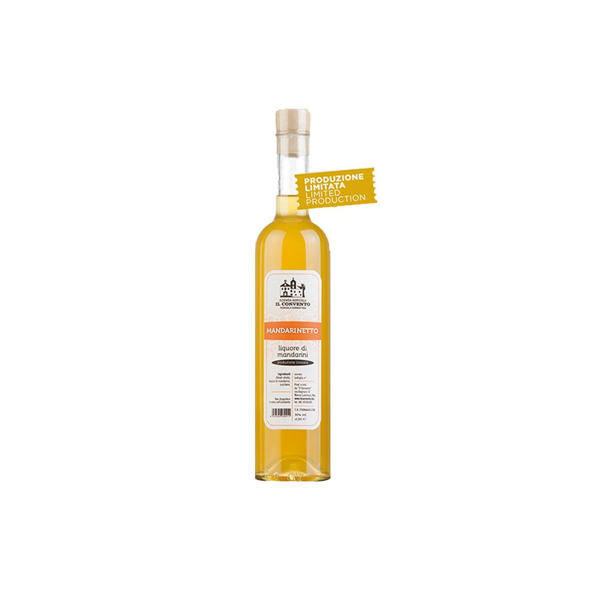 Mandarinetto of Sorrento 500ml - Limited Production - PepeGusto