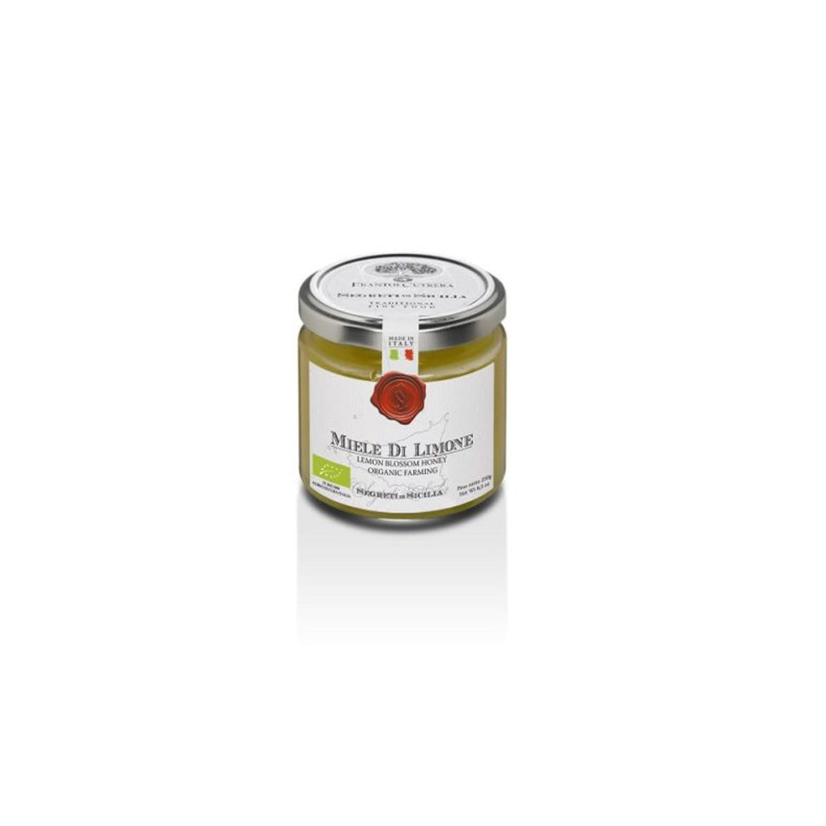 Organic Lemon Blossom Honey - PepeGusto