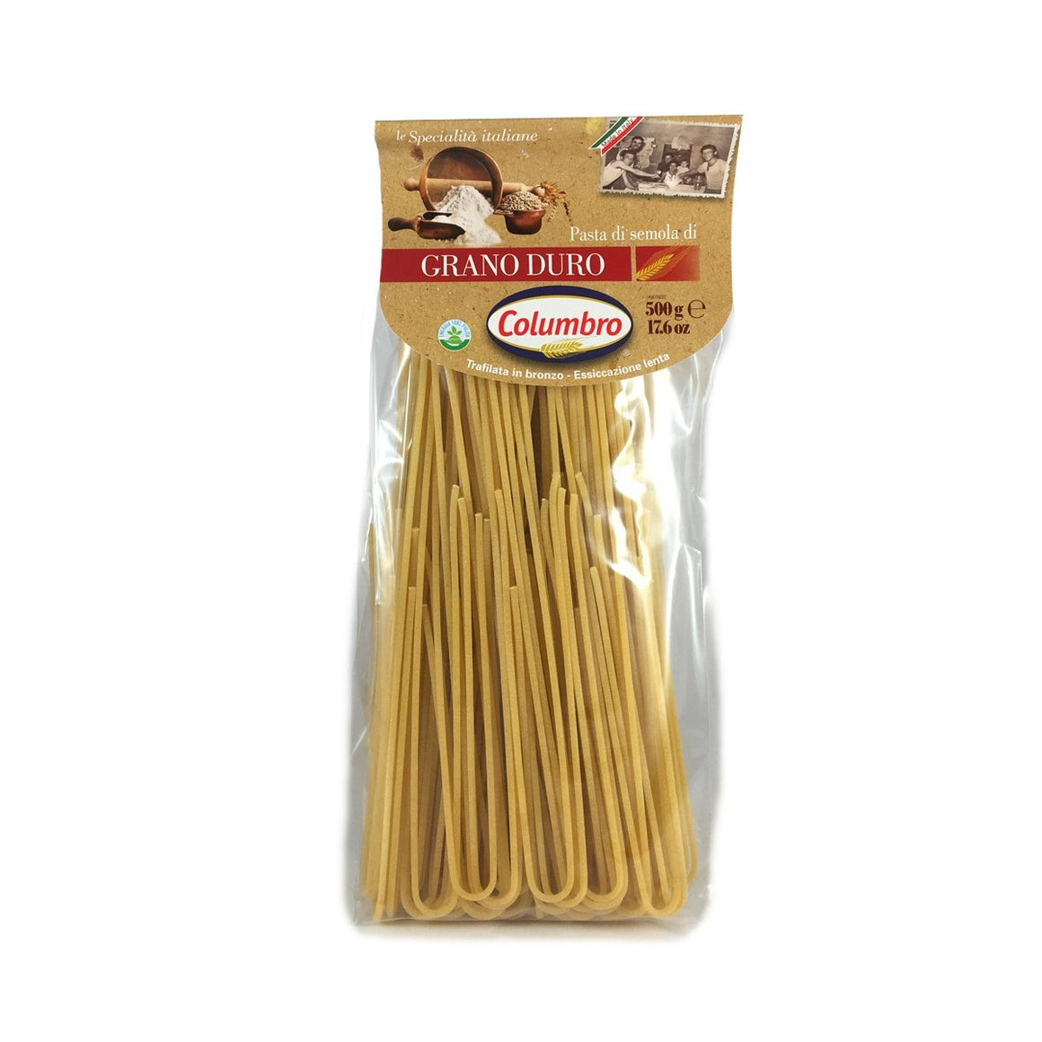 Spaghettoni Italian specialties of durum wheat - PepeGusto