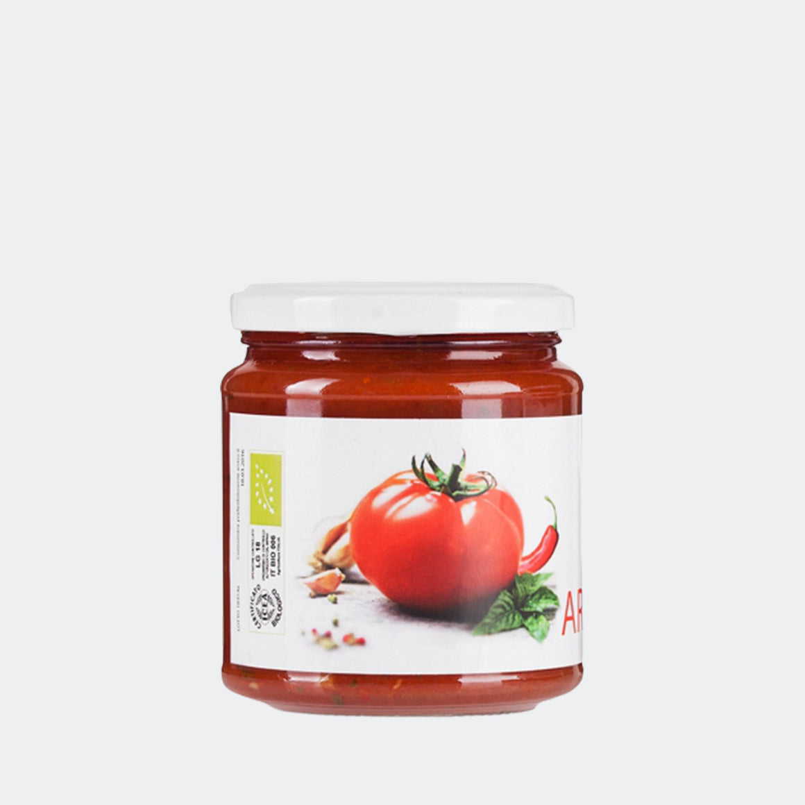 Organic Ready-made Arrabbiata sauce