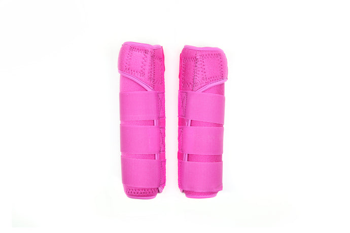Neoprene Sling Boots - Hot Pink