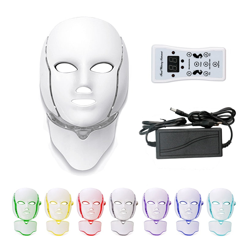 DERMALIGHT™ - PROFESSIONAL LED LIGHT THERAPY FACE SKIN BEAUTY MASK