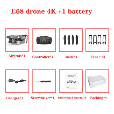 80% Off - Drone X Pro With HD Camera WiFi FPV GPS RC Quadcopter